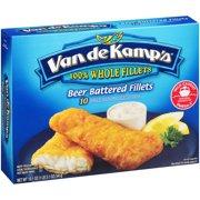 Pinnacle Foods Van de Kamps Fish Fillets 10 ea