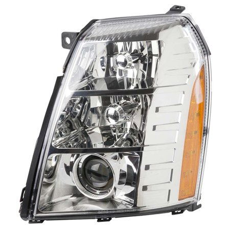 New Left Headlight Assembly For Cadillac Escalade HID 2007 2008 2009