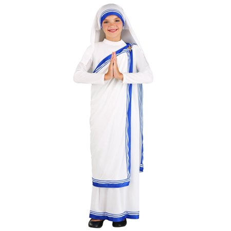 Tanning Mom Halloween Costume (Girl's Mother Teresa Costume)