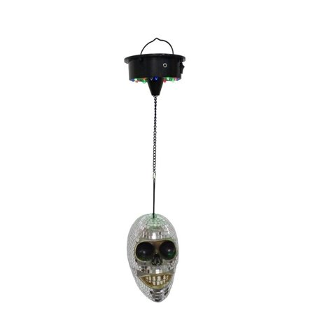 Halloween Parties In Nashville 2017 (Elegantoss LED Mirror Disco Skull shaped Light with Sound Sensor for DJ Party Halloween)