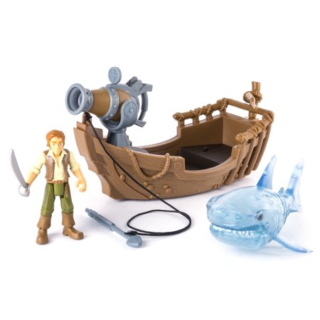 Pirates of the Caribbean: Dead Men Tell No Tales - Ghost Shark Attack](Shark Tank Toys)