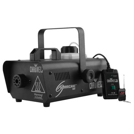 1000 Fog Machine - CHAUVET DJ Hurricane 1000 Pro Fog/Smoke Machine w/Wired & Wireless Remote H1000