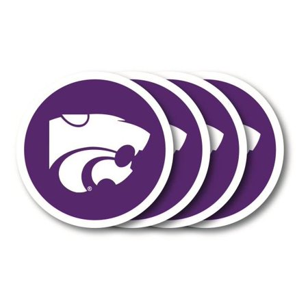 Wildcats Four (Kansas State Wildcats Coaster Set - 4 Pack )