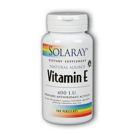 Solaray La vitamine E 400 UI - 100