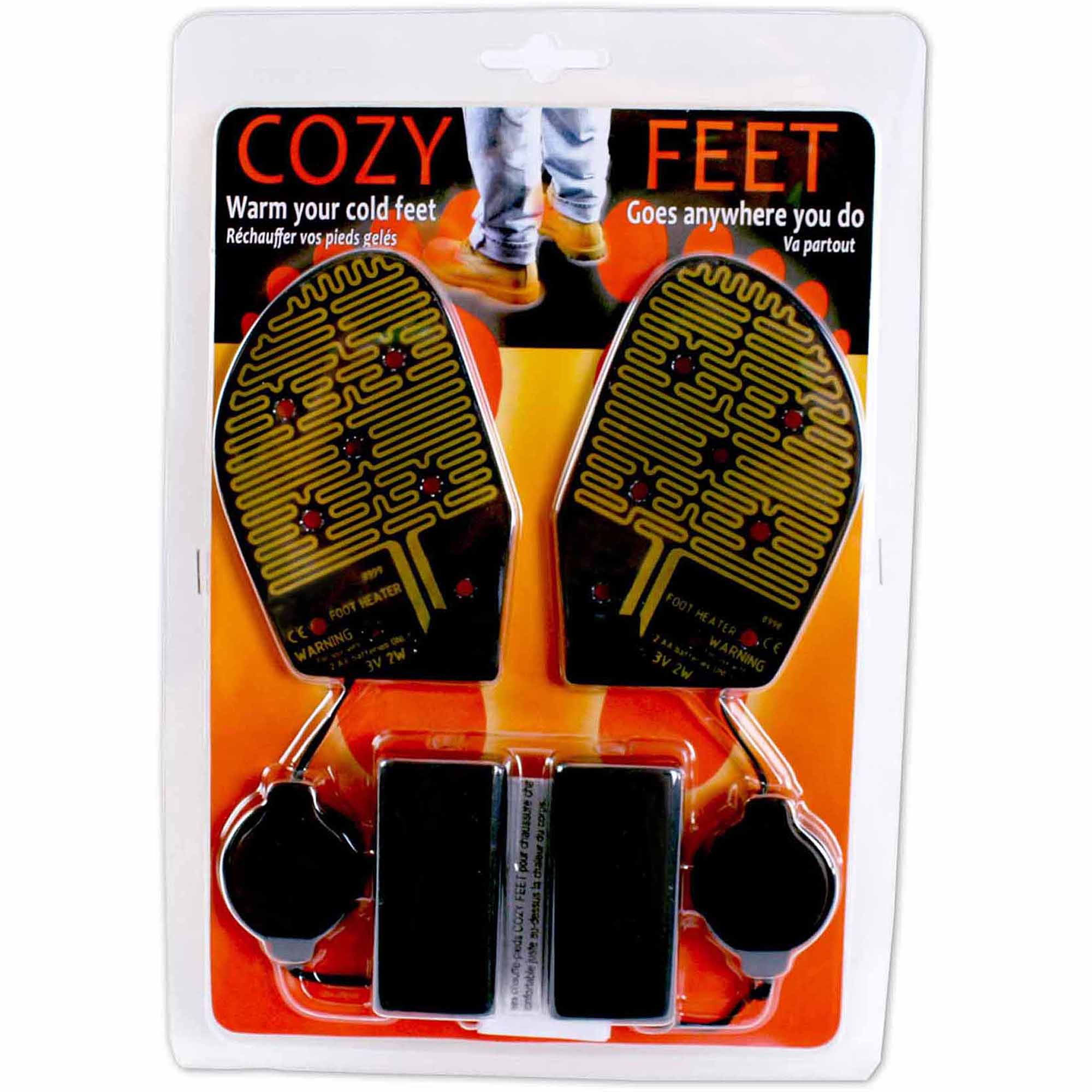 Cozy Feet Battery Powered Foot Warmers Wall Furnace Wiring Diagram
