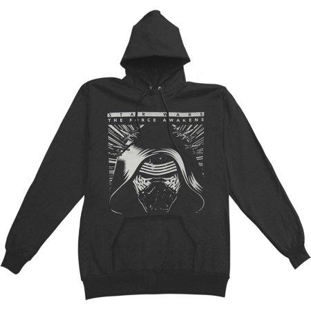Star Wars Men's  Kylo Ren Hooded Sweatshirt Black](Star Wars Hood)