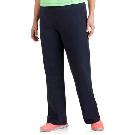 e09a4d3ca2e Danskin Now - Women s Plus Size Dri More Core Bootcut Workout Pants -  Walmart.com