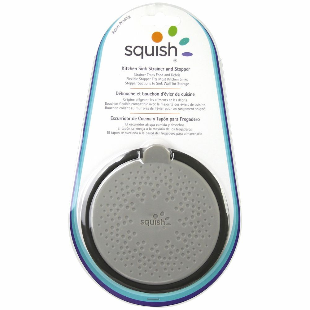 Squish Sink Stopper And Strainer