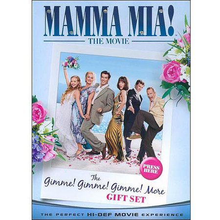 Mamma Mia! The Movie: Gimme! Gimme! Gimme! More Gift Set (Blu-ray) (Anamorphic Widescreen)