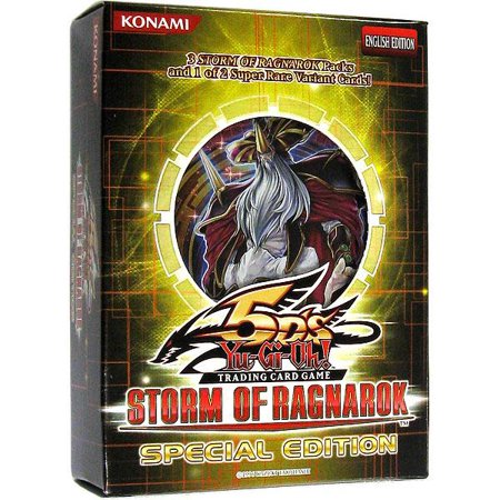 Yu-Gi-Oh Storm of Ragnarok Special Edition Pack Destruction Special Edition Pack