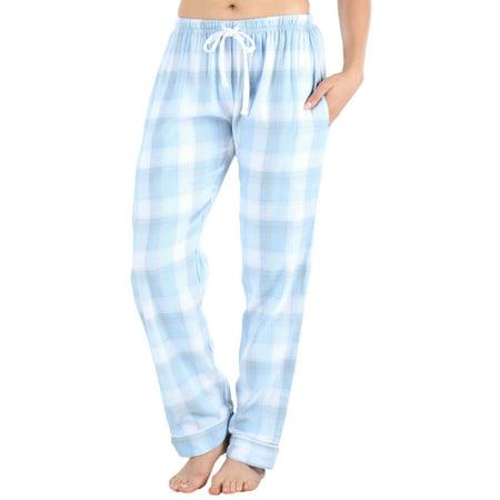 Frankie & Johnny Women's Cotton Flannel Plaid Pajama Sleep Pants
