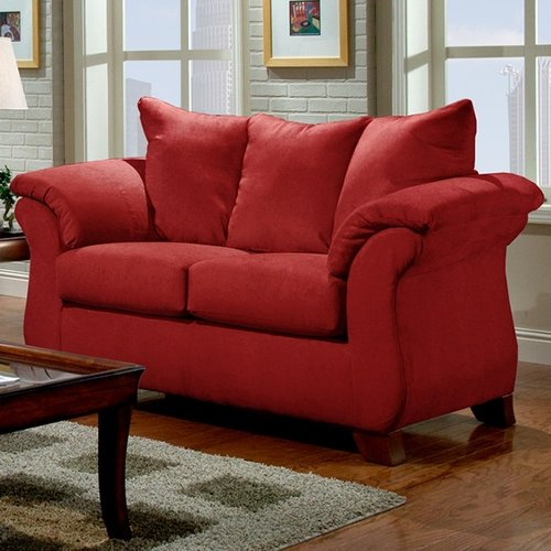 Roundhill Furniture Sensations Loveseat