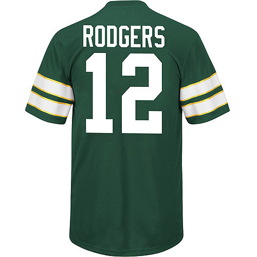 NFL Big Men's Green Bay Packers A Rodgers Jersey, Size 2XL