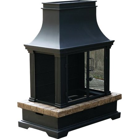 Bond Manufacturing Portofino Envirostone Propane Outdoor Fireplace