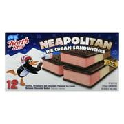 North Star Ice Cream Sandwiches, Neapolitan, Box, 3.5 FL OZ
