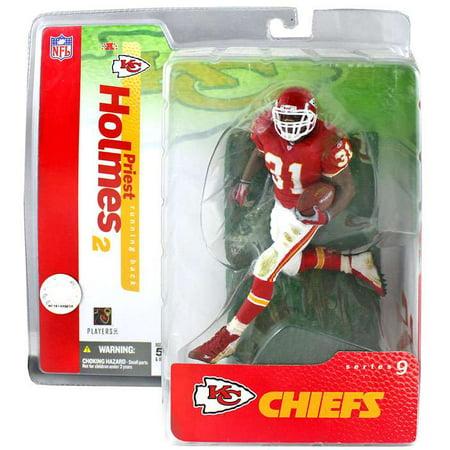 McFarlane NFL Sports Picks Series 9 Priest Holmes Action Figure [Red Jersey] (1 Mcfarlane Sports Picks Toys)