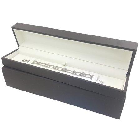Elegant Sliding Jewelry Gift Box For Watch Or Bracelet Display