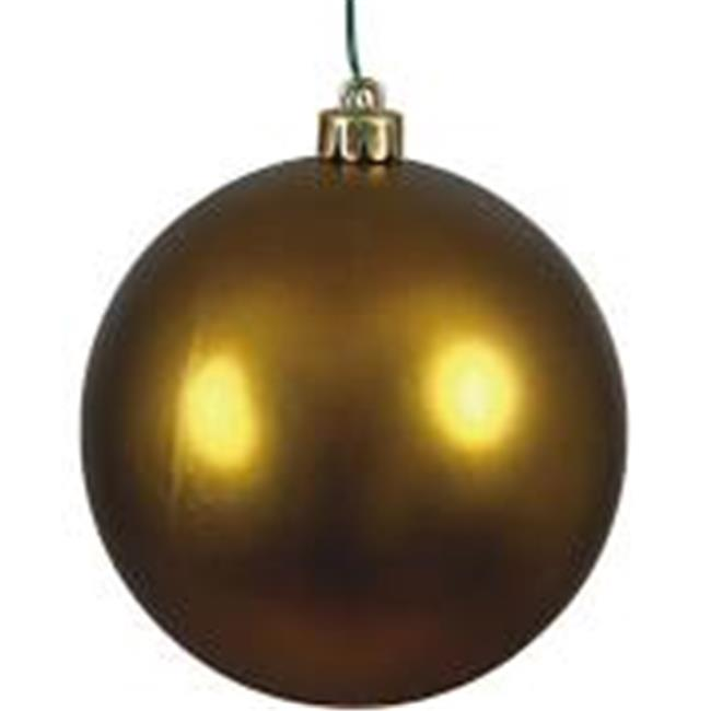 Vickerman N591574DQ 6 in. Midnt Green Sequin Drilled Christmas Ornament Ball - 4 per Bag - image 1 of 1