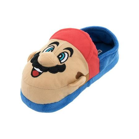 2362ec71537 SG Footwear - Super Mario and Luigi Kids Slippers - Walmart.com