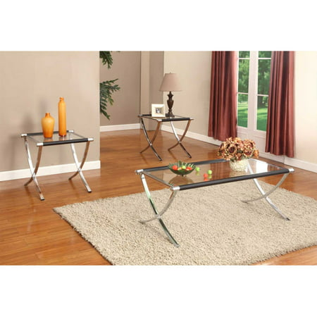 K & B Furniture T210 3 Piece Cocktail and End Table Set