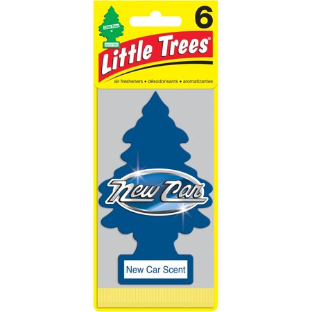LITTLE TREES air freshener New Car Scent 6-Pack