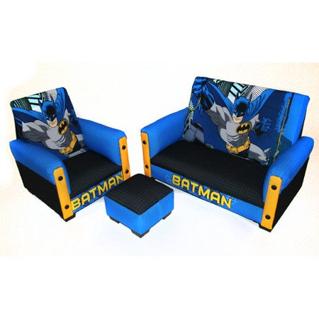 Astounding Warner Brothers 90054 Batman Deluxe Toddler Sofa Chair And Otto Machost Co Dining Chair Design Ideas Machostcouk