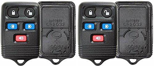 Fits Ford 4F2T-15K601 AB OEM 6 Button Key Fob