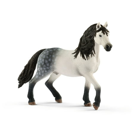 Schleich Horse Club, Andalusian Stallion Toy - Plastic Toy Horses