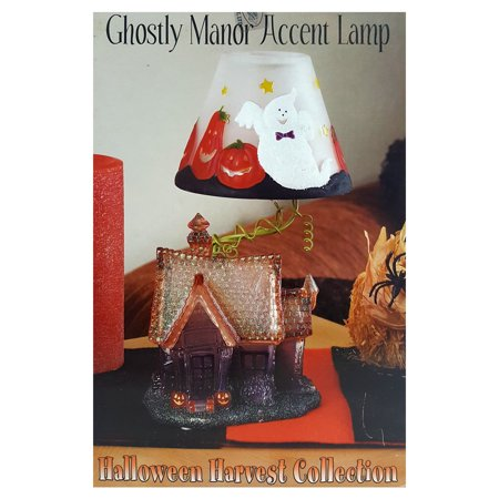 2004 Heritage Mint Halloween Harvest Collection Ghostly Manor Accent Lamp HA16](Manor Halloween Nyc)