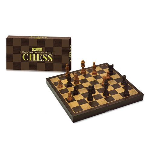 Premier Wooden Chess by Intex