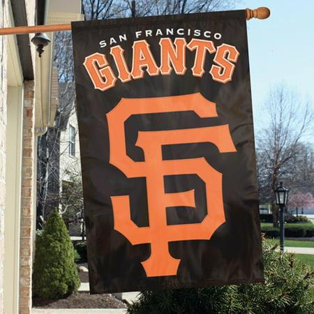 "San Francisco Giants 44"" x 28"" Applique Team Flag - No Size"