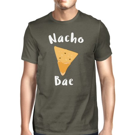 Nocho Bae Men's Dark Grey T-shirt Creative Anniversary Gift Ideas - Aniversary Ideas