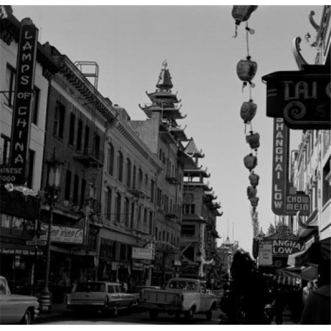Posterazzi SAL255424240 USA California San Francisco Street in Chinatown Poster Print - 18 x 24 in. - image 1 de 1