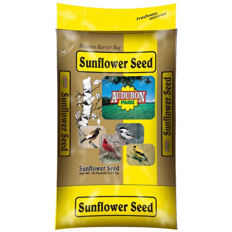 Audubon 10249 10 Lb Sunflower Seed Wild Bird Food