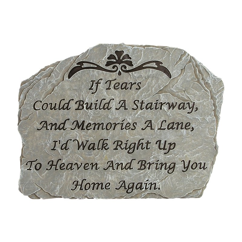 Carson Home Accents Tears Garden Stone by Garden Accents