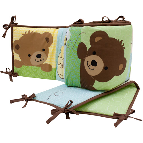 Bedtime Originals by Lambs & Ivy - Honey Bear Crib Bumper