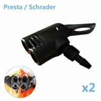 AkoaDa Bicycle Bike Tyre Tube Replacement Presta/Schrader Dual Head Pump Funny Beauty