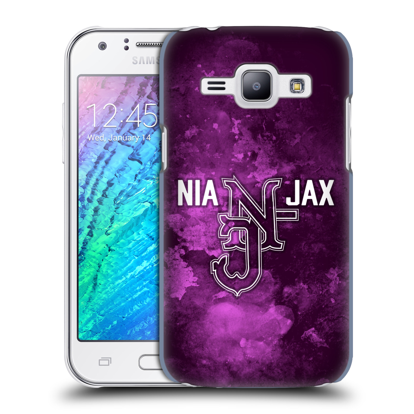 OFFICIAL WWE NIA JAX HARD BACK CASE FOR SAMSUNG PHONES 4
