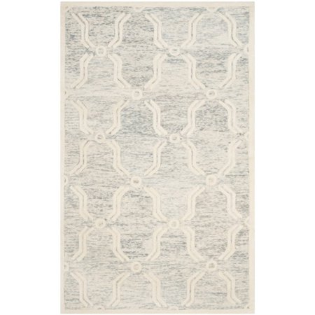 "Safavieh Cambridge 2'6"" X 8' Hand Tufted Wool Rug - image 1 de 10"
