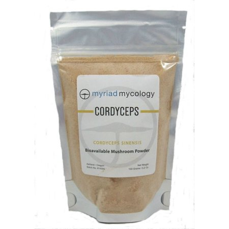 Cordyceps Mushroom - Myriad Mycology Cordyceps Mushrooms Powder, Dong Chong Xia Cao, 5.2 ounces