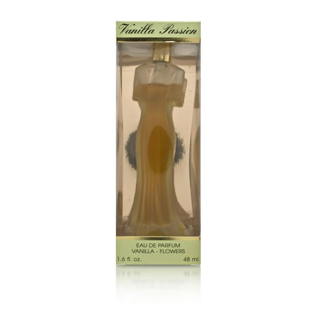 Vanilla Passion Flowers by Perfume America for Women 1.7 oz Eau de Parfum Spray (Slightly Leaking) (No -