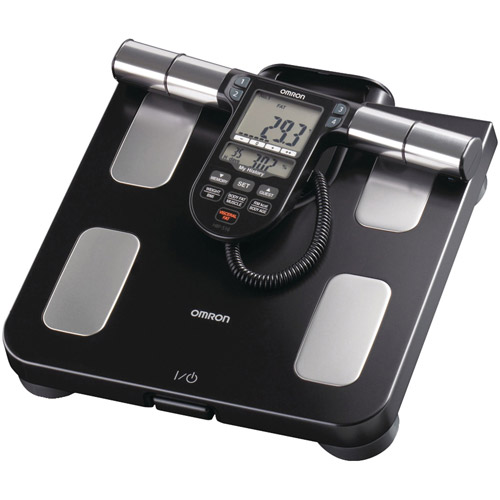 Omron Full-Body Sensor Body Composition Monitor and Scale, Black