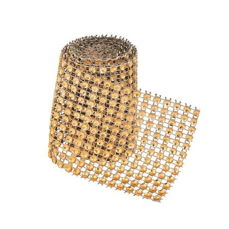 Fun Express - Medium Gold Rolled Jewels for Wedding - Craft Supplies - Bulk Craft Accessories - Jewels - Wedding - 1 Piece](Bulk Gemstones)
