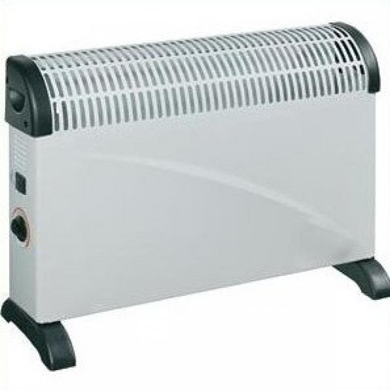 Alpina SF-9351 Electric Space Heater with Two Power Output Settings 600W / 1200 Watt - 220V / 240 Volt (Not for Use in Usa)