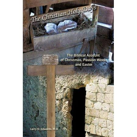 The Christian Holy Days