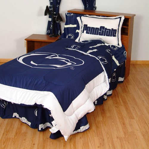 College Covers Penn State Nittany Lions Reversible Comforter Set - Queen
