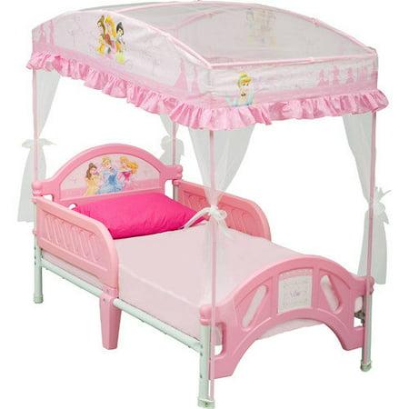 Delta Children Disney Princess Convertible Toddler Bed