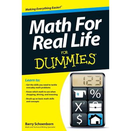 Math for Real Life for Dummies - Life Size Dummy