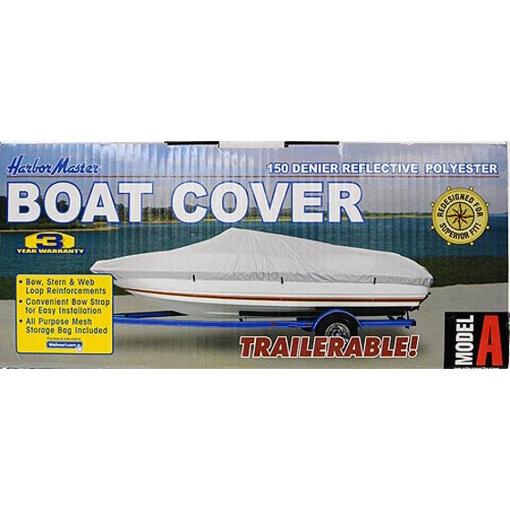 Harbor Master 150D Silver Boat Cover, B