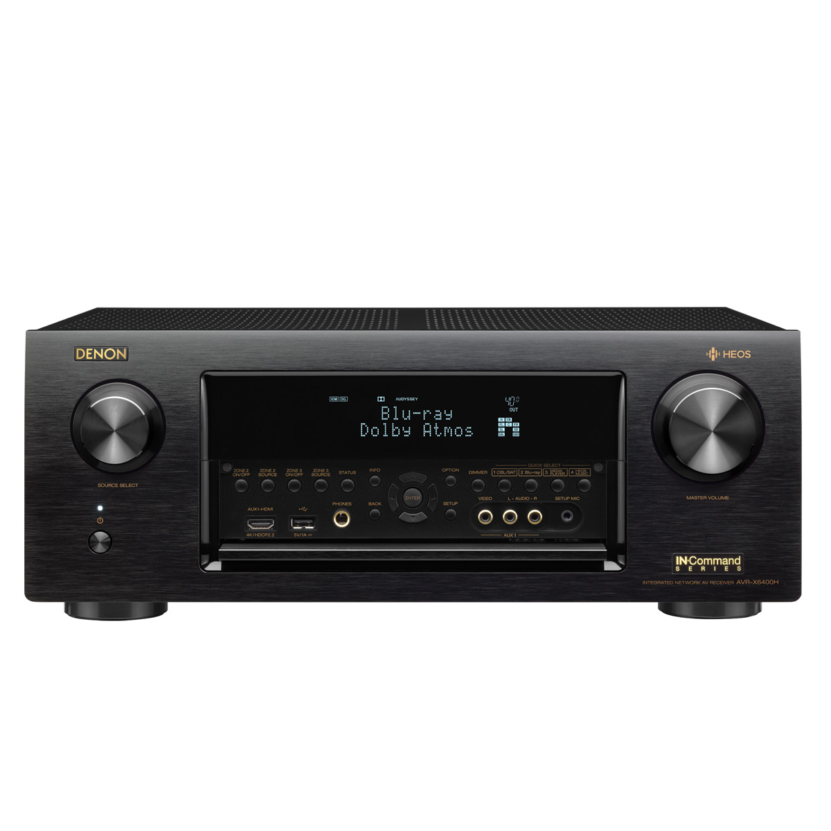 Denon AVR-X6400H 11.2 Channel Full 4K Ultra HD Network AV Receiver with HEOS by Denon